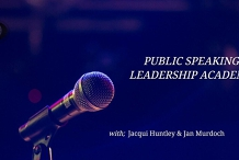 Public Speaking & Leadership Academy: Club night tickets