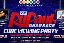 RuPaul's Drag Race – Cube Viewing Party!