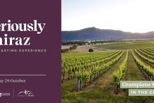 "Seriously Shiraz - Virtual Wine Tasting Masterclass ""IN THE CELLAR"""