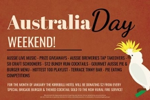 Australia Day Weekend!