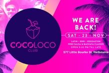 CocoLoco Club - Latin + RNB - Every Saturday