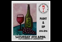 Paint n Sip In Lanceston