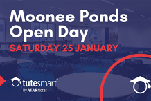 ATAR Notes Open Day | Moonee Ponds Centre | Saturday 25 January 2020