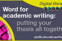 Word: putting your thesis together workshop