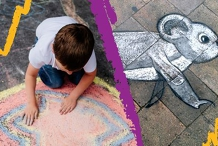 Chalkin' Around - Free school holiday activity