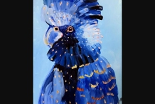 Paint and Sip Class - Blue Cockatoo (Mar 09)