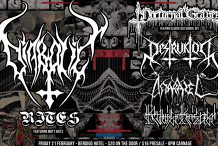 Diabolic Rites + Nocturnal Graves + Destruktor + Anarazel + Klavierkrieger