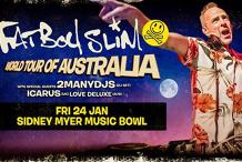 Fatboy Slim at Sidney Myer Music Bowl, Melbourne (18+)