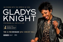 Gladys Knight at Qpac Concert Hall, Brisbane (All Ages)