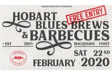 Hobart Blues, Brews and BBQs Festival 2020