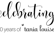 Tania Louise 10th Year Anniversary Celebrations