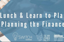 Lunch & Learn to Plan - Planning the Finances