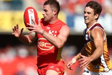 AFL Round 22: Gold Coast SUNS versus Brisbane Lions