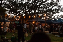 The Green Marquee Twilight Markets
