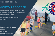 Mini Morton's Soccer