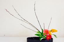 Japanese flower arranging course