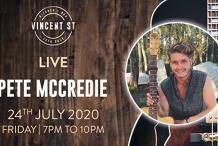 Pete McCredie - LIVE