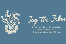 Jag the Joker | Every Thursday