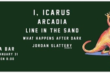 I, Icarus Arcadia LITS WHAD & Jordan Slattery at Enigma Bar