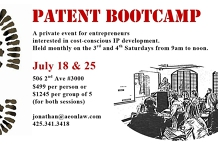 July Seattle Patent Bootcamp™