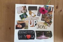 NEW YEAR VISION BOARD and RESTORATIVE YIN YOGA WORKSHOP