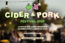 WA Cider & Pork Festival