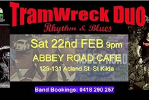 TramWreck Duo at Abbey Road Cafe'