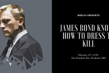 James Bond Knows How To Dress To Kill