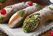 SICILIAN CANNOLI WITH FAMILY FOOD FIGHT CONTESTANT CONCETTA PLUCHINOTTA