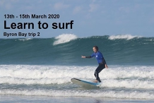 Learn To Surf - Byron Bay Trip 2, 2020