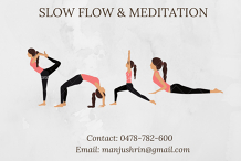 Meetup - Slow Flow Yoga and Meditation