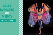 Beginner Belly Dancing 6 Week Course in Term 5!