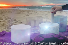 Full Moon Cacao, Deep Trance, Sound & Energy Healing Ceremony