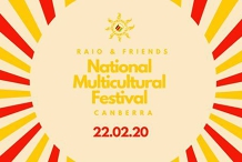 Raio + Friends at National Multicultural Festival
