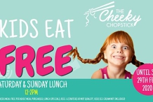 Kids Eat Free at The Cheeky Chopstick