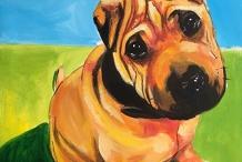 POSTPONED: Paint your Pet: Paint n Sip