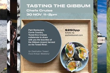 """Tasting the Gibbum"" Chefs Cruise  (part of Destination Tweed Artisan Food Weekend)"