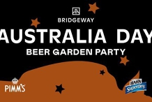 Australia Day Party - Bridgeway Beer Garden