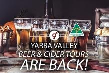 Beer & Cider Singles Tour | F 40-56, M 44-59 | December