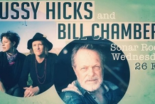 Hussy Hicks & Bill Chambers   Live at the Sonar Room