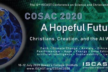 COSAC 2020: 12th Conference on Science and Christianity