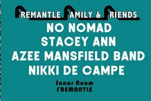 No Nomad, Stacey Ann & Azee Mansfield Band at Sonar Room