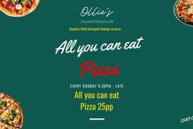 All you can eat Pizza!