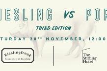 Stirling Hotel Riesling vs Pork Luncheon