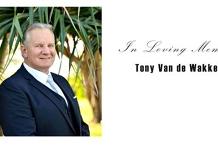 Tony's Memorial Service