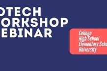 EdTech Workshop | Future Of Education | High School | College | University