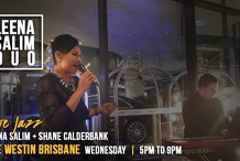 Leena Salim Jazz Duo at The Westin Brisbane