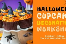 Cupcake Decorating Workshop for Kids - Halloween Themed