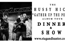 """The HUSSY HICKS 'Gather Up The People"""" Album Tour"""