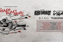 ThrashBlastGrind w/ King Parrot, Exhumed, King, Theories - Perth